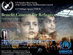 UN Chamber Music Society poster